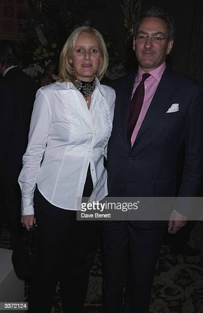 Alexandra Heseltine and her husband at a party thrown by designer Bruce Oldfield in aid of The Crimestoppers Trust held at Spencer House on 17th...