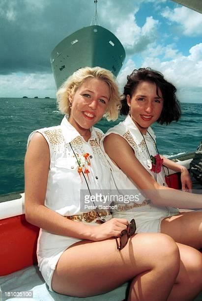Alexandra Hofmann Schwester Anita Kreuzfahrt '1001 Nacht' Luxusliner MS 'Royal Star' ostafrikanische Küste/indischer Ozean Beiboot aubooten Schiff...