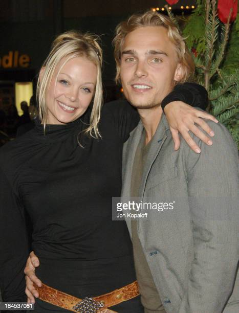Alexandra Holden and Joey Kern during 'Just Friends' Los Angeles Premiere Arrivals at Mann Village Theater in Westwood California United States