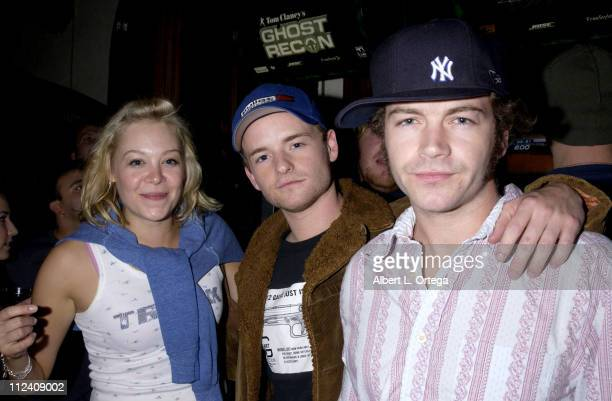 Alexandra Holden Chris Masterson and brother Danny Masterson