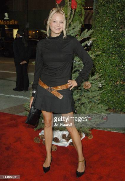 Alexandra Holden during 'Just Friends' Los Angeles Premiere Arrivals at Mann Village Theater in Westwood California United States