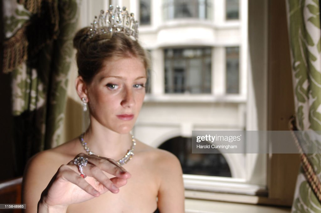 Christie's Royal Jewellery Auction - London June 4, 2007 : ニュース写真