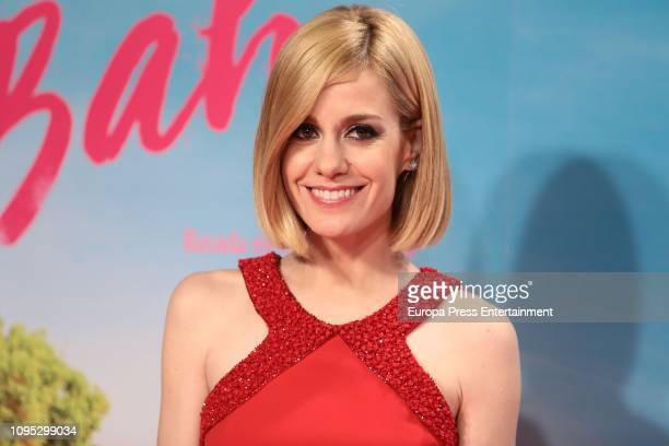 Alexandra Jimenez attend the 'Gente que viene y bah' premiere at Capitol cinema on January 16 2019 in Madrid Spain