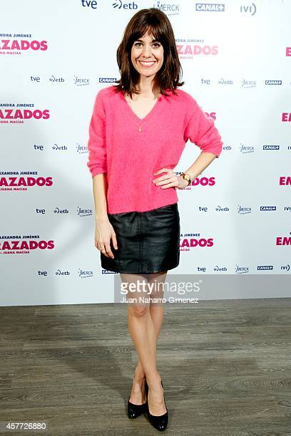 Alexandra Jimenez attends 'Embarazados' photocall at Espacio Mood on October 23 2014 in Madrid Spain