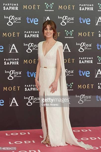 Alexandra Jimenez attends Goya Cinema Awards 2014 at Centro de Congresos Principe Felipe on February 7 2015 in Madrid Spain
