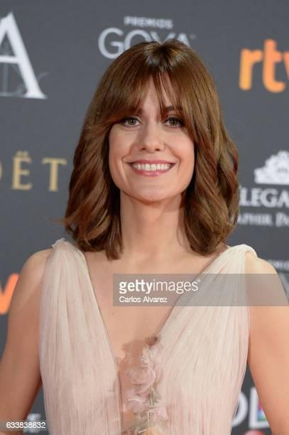Alexandra Jimenez attends Goya Cinema Awards 2017 at Madrid Marriott Auditorium on February 4 2017 in Madrid Spain