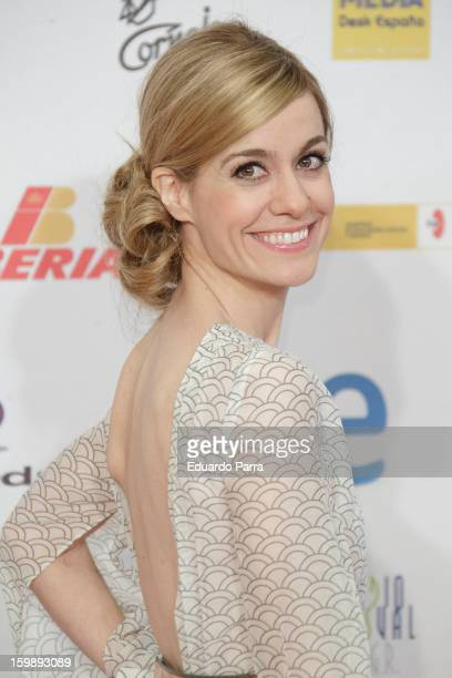 Alexandra Jimenez attends Jose Maria Forque awards photocall at Canal theatre on January 22 2013 in Madrid Spain