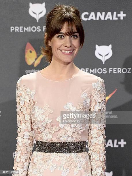 Alexandra Jimenez attends the 2015 'Feroz' Cinema Awards at Gran Teatro Ruedo Las Ventas on January 25 2015 in Madrid Spain