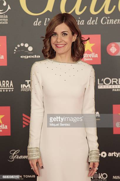 Alexandra JImenez attends the IX Gaudi Awards 2016 at the Forum's Auditori on January 29 2017 in Barcelona Spain