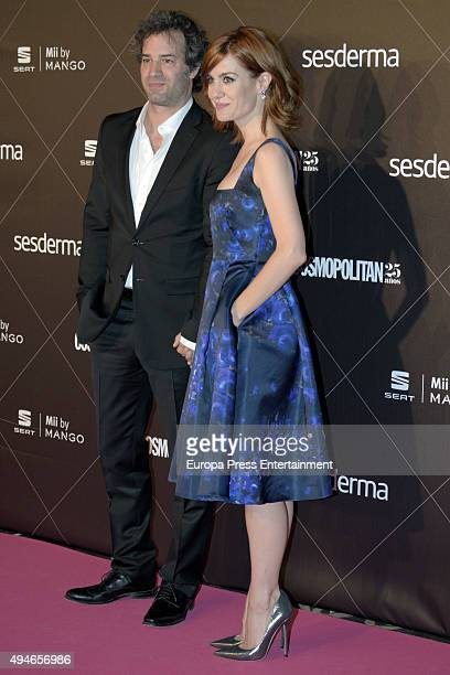 Alexandra Jimenez attends VIII Cosmopolitan Fun Fearless Female Awards at Ritz hotel on October 27 2015 in Madrid Spain