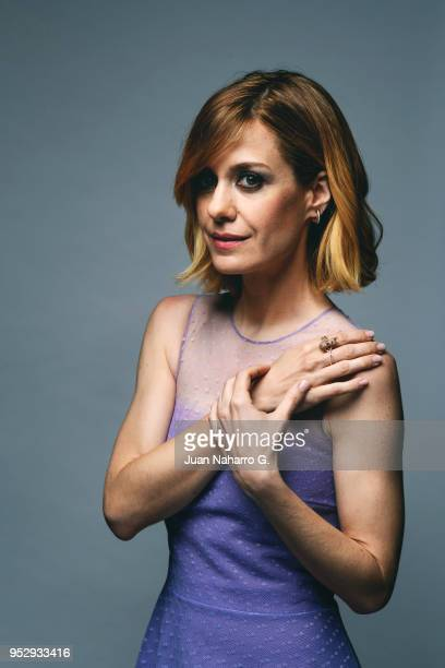 Alexandra Jimenez is photographed on self assignment during 21th Malaga Film Festival 2018 on April 17 2018 in Malaga Spain