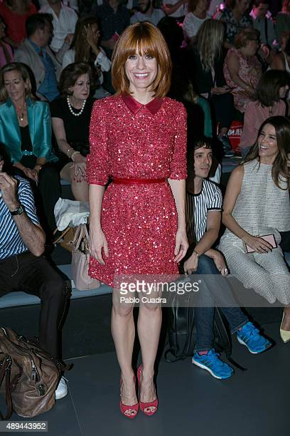 Alexandra Jimenez is seen attending MercedesBenz Fashion Week Madrid Spring/Summer 2016 at Ifema on September 21 2015 in Madrid Spain