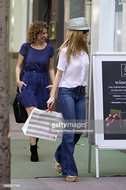Alexandra Jimenez is seen on April 17 2013 in Madrid Spain