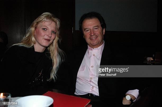 Alexandra Jostes Freund Chris Andrews Bremen Sänger Promis Prominenter Prominente PNr 1268/04