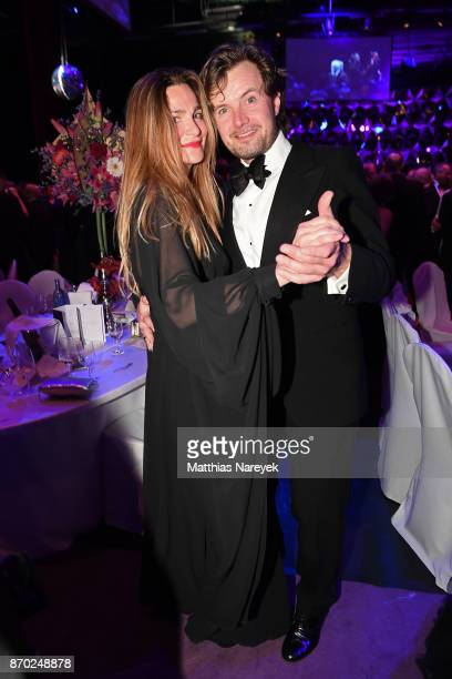 Alexandra Kamp and Michael von Hassel attend the Leipzig Opera Ball on November 4 2017 in Leipzig Germany