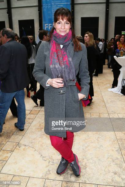 Alexandra Kamp attends Bavarian Representative Berlinale Reception at Bavarian Representation on February 14 2013 in Berlin Germany