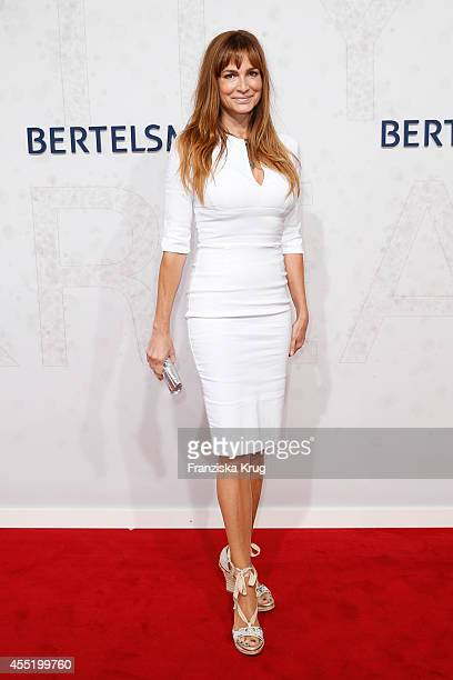 Alexandra Kamp attends the Bertelsmann Summer Party at the Bertelsmann representative office on September 10 2014 in Berlin Germany