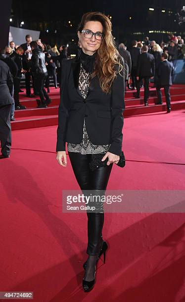 Alexandra Kamp attends the German premiere of the new James Bond movie 'Spectre' at CineStar on October 28 2015 in Berlin Germany