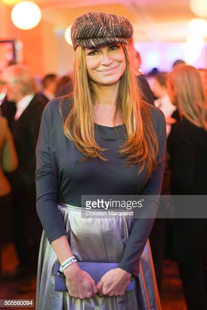 Alexandra Kamp attends the New Years Reception of the Sueddeutsche Zeitung at Humboldt Carre on January 18 2016 in Berlin Germany