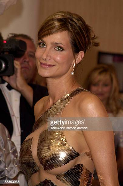 Alexandra Kamp during Red Cross Ball 2002 Arrivals / Bal de la Croix Rouge 2002 Arrivals at MonteCarlo Sporting Club in MonteCarlo Monaco