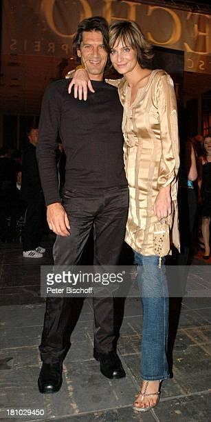 Alexandra Kamp Freund Tertius Meintjes AftershowParty nach der 'Echo 2004'Verleihung Berlin 'Palais am Funkturm' Promis Prominente Prominenter