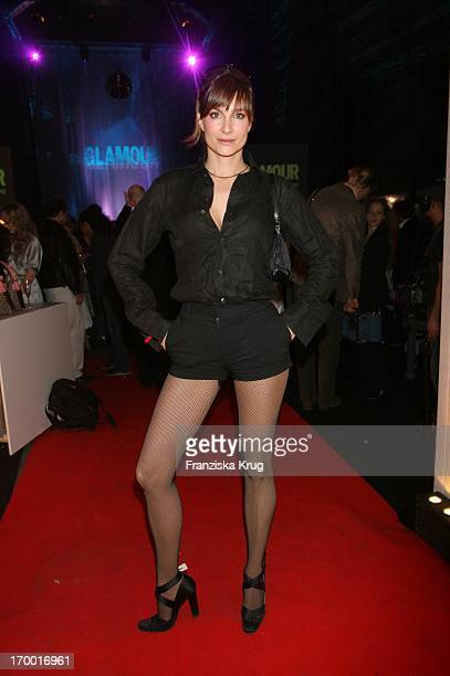 Alexandra Kamp In Hotpants At The Night Of Glamour At 5 years Glamour In The Parochial Church in Berlin