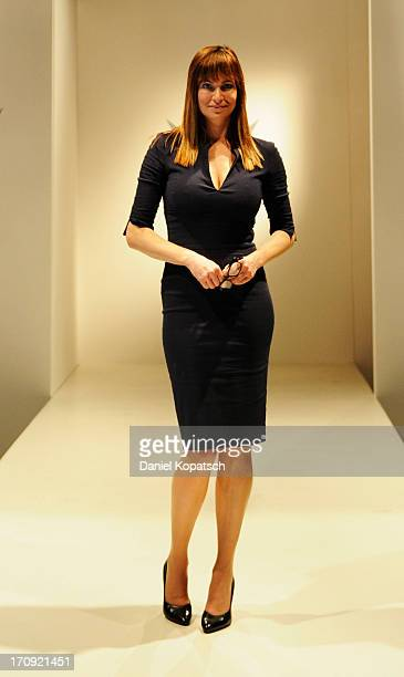 Alexandra Kamp poses during a photocall of 'SOKO Stuttgart' TV Series on June 20 2013 in Stuttgart Germany