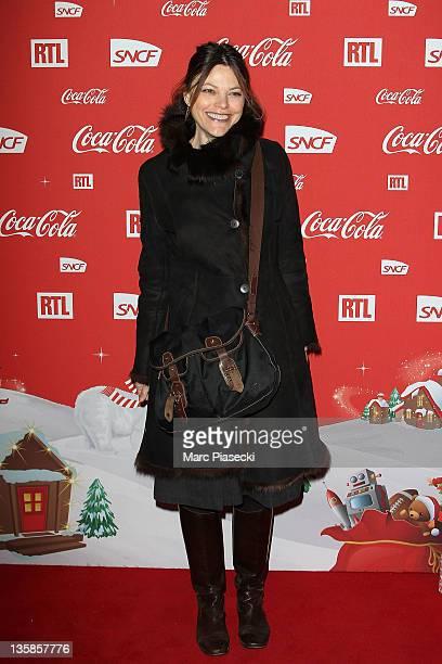 Alexandra Kazan attends the 'Association Petits Princes' And Coca Cola Red Train Launch at Gare de L'Est on December 15 2011 in Paris France