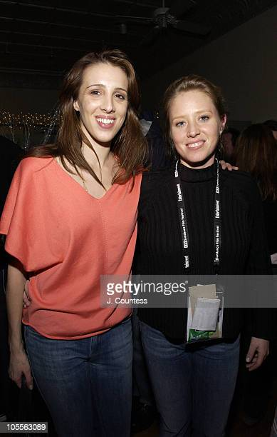 Alexandra Kerry and Amy Redford during 2005 Park City UTA/Amazoncom Sundance Party at Riverhorse Cafe in Park City Utah United States