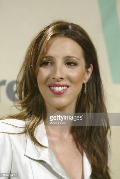 Alexandra Kerry daughter of US presidential candidate John Kerry attends the 2004 Crystal and Lucy Awards A Family Affair Women In Film Celebrate the...