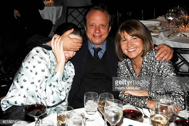 Alexandra Kotur Jonathan Becker and Milly deCabrol attend INTERNATIONAL CENTER OF PHOTOGRAPHY's 24th Annual INFINITY AWARDS at Pier 60 on May 12 2008...
