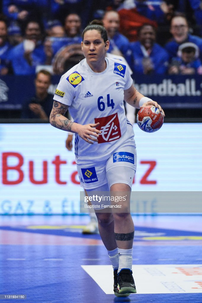 Alexandra Lacrabere Of France During The Golden League Match