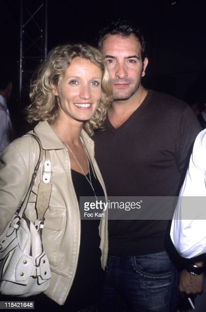 Alexandra Lamy and Jean Dujardin during Espace Payot Opening Party September 7 2006 at Espace Payot Pierre Charron in Paris France