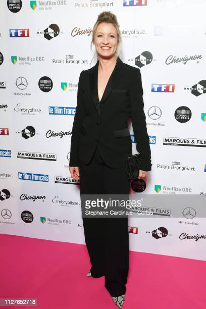Alexandra Lamy attends the 26th Trophees Du Film Francais Photocall at Palais Brongniart on February 05 2019 in Paris France
