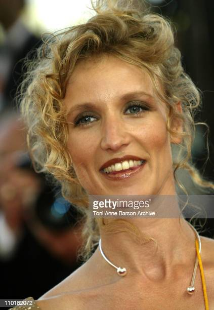 Alexandra Lamy during 2003 Cannes Film Festival 'Dogville' Premiere at Palais Des Festival in Cannes France