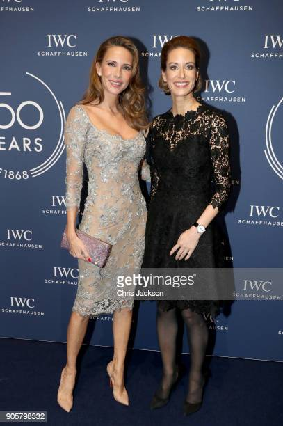 Alexandra Lapp and Franziska Gsell attend the IWC Schaffhausen Gala celebrating the Maison's 150th anniversary and the launch of its Jubilee...