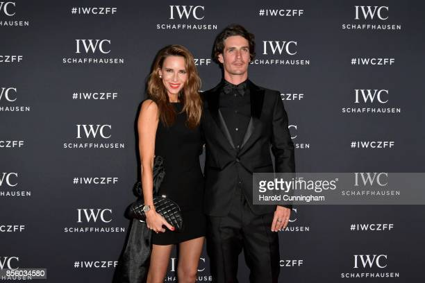 Alexandra Lapp and Patrick Seabase attend the IWC 'For the Love of Cinema' Gala Dinner at AURA Zurich on 30 September 2017 in Zurich Switzerland...