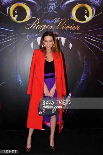 Alexandra Lapp attends Roger Vivier Day Dream Vivier Press Day during Paris Fashion Week Womenswear Fall/Winter 2019/2020 at Fondation Cino et Simone...