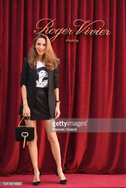 Alexandra Lapp attends the Roger Vivier Presentation Spring/Summer 2019 during Paris Fashion Week on September 27 2018 in Paris France