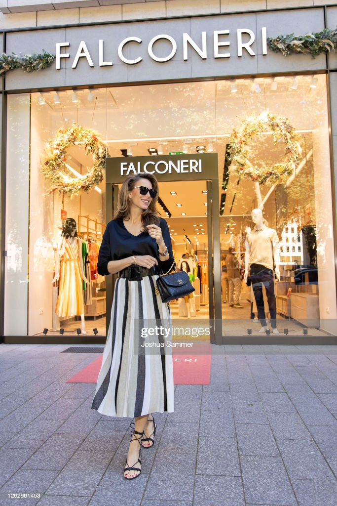 Store Opening Falconeri In Dusseldorf : News Photo