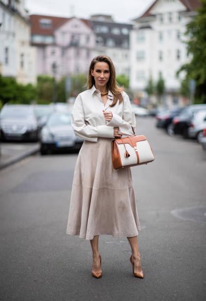 DEU: Street Style - Dusseldorf - June 5, 2020