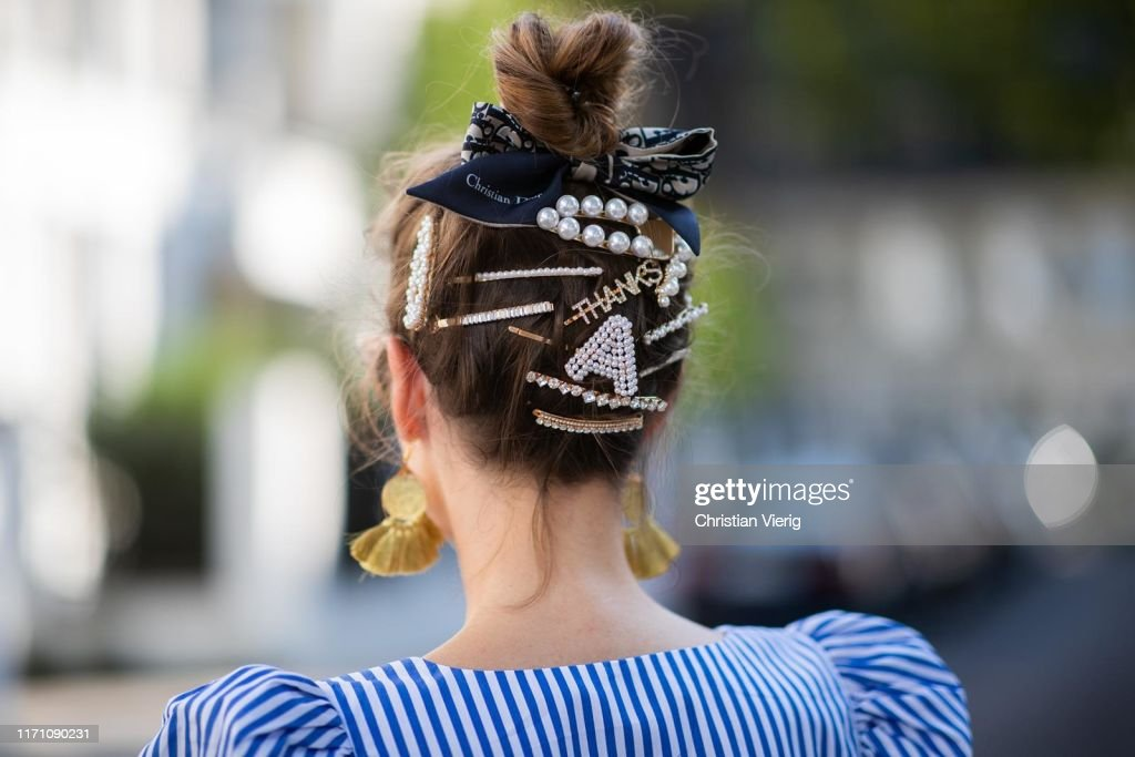 Street Style - Duesseldorf - August 24, 2019 : Photo d'actualité