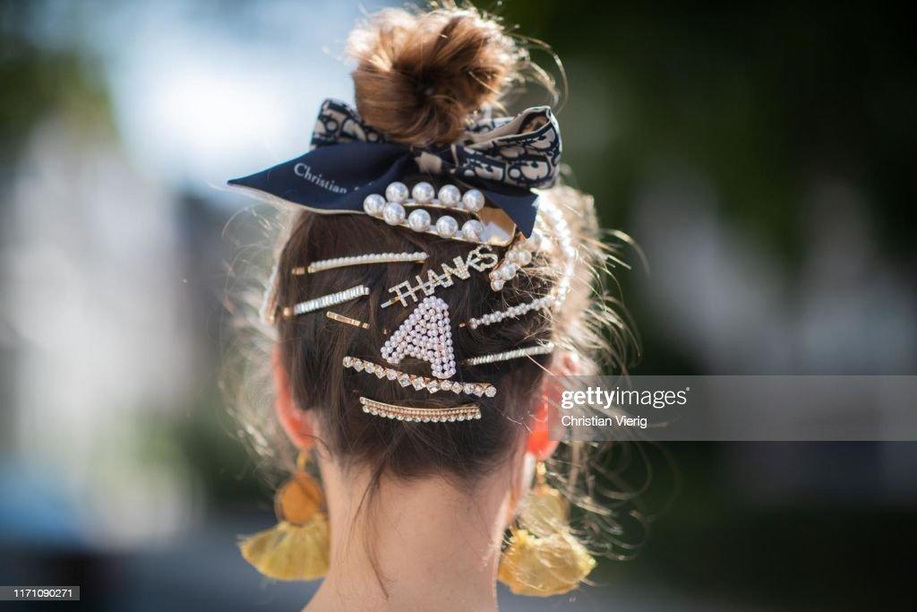 Street Style - Duesseldorf - August 24, 2019 : News Photo