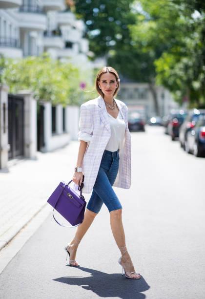DEU: Street Style - Dusseldorf - July 15, 2020
