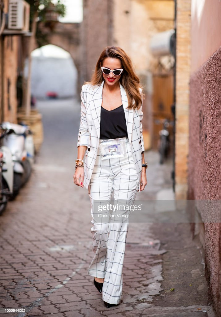 Street Style - Marrakech - November 25, 2018 : News Photo
