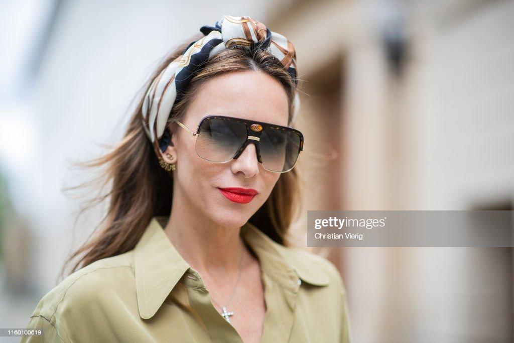 Street Style - Berlin Fashion Week - July 2, 2019 : Photo d'actualité