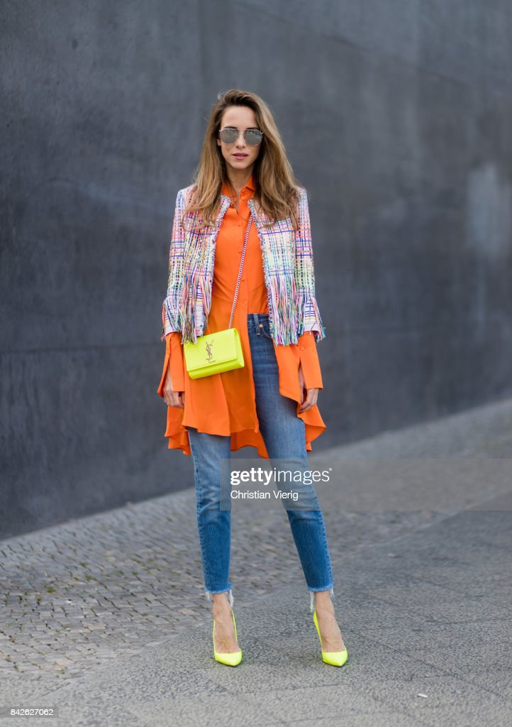 Street Style - Berlin - September 2017 : News Photo