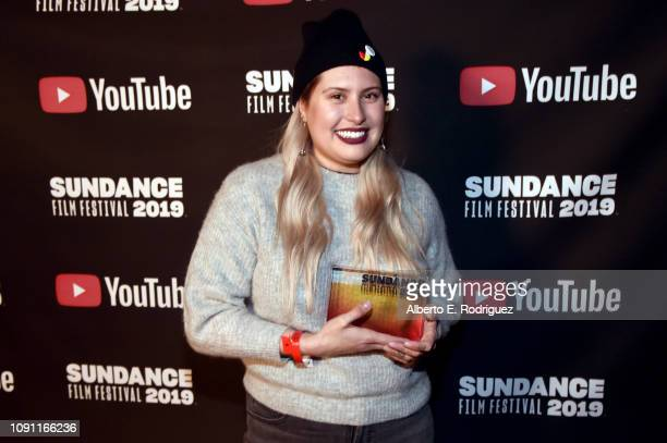 Alexandra Lazarowich attends the Shorts Program Awards And Party during the 2019 Sundance Film Festival at Utah Film Studios on January 29 2019 in...