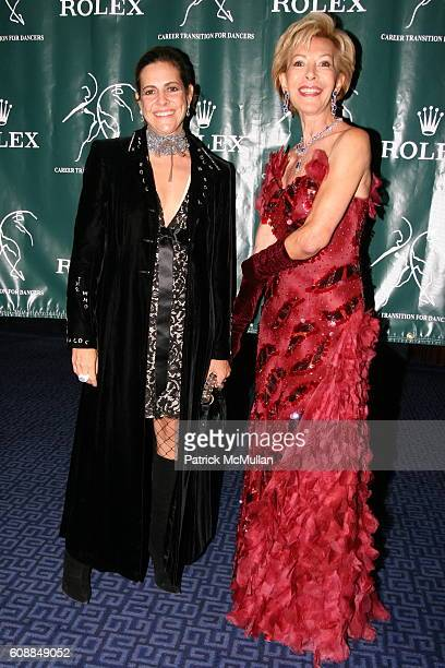 Alexandra Lebenthal and Anka K Palitz attend Rolex Presents DANCE ROCKS Career Transition For Dancers 22nd Anniversary Jubilee at Metropolitan...