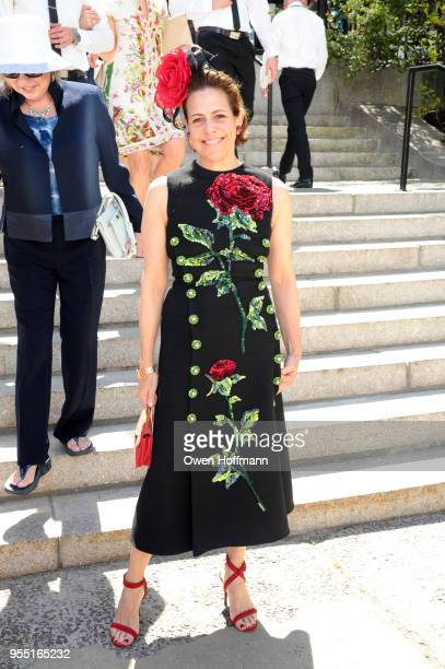 Alexandra Lebenthal attends 36th Annual Frederick Law Olmsted Awards Luncheon Central Park Conservancy at The Conservatory Garden in Central Park on...